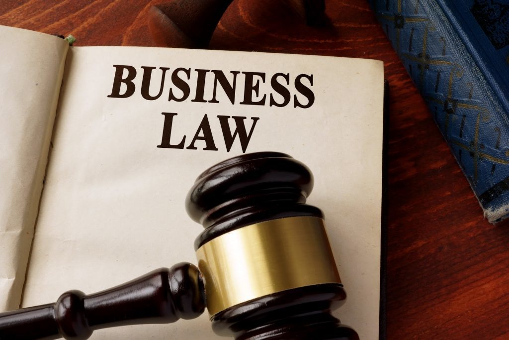 A book and law aid on table