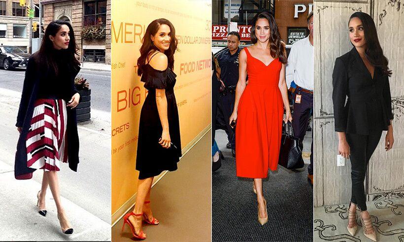 A group of girls wearing modern dress and walking